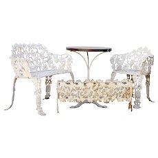 Cast Iron Outdoor Furniture Set