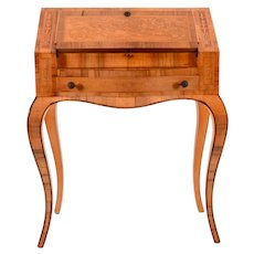 American Inlaid Writing Desk