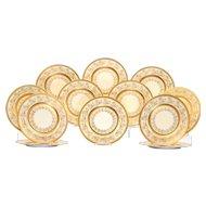 Bavarian Set of Twelve Charger Plates by Heinrich & Co