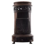 French Cast Iron and Metal Stove