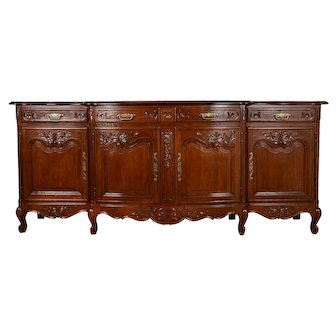 French Oak Parquetry Buffet