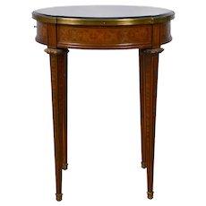 Inlaid Satinwood Side Table