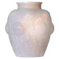 R. Lalique Domremy Vase