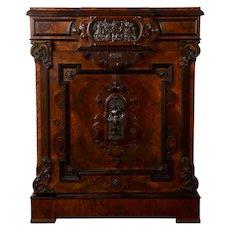 Renaissance Style Walnut Cabinet
