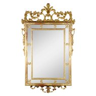 Italian Carved Gesso Wall Mirror