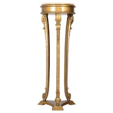 French Painted Pedestal