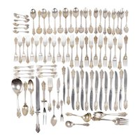 Wallace Grand Baroque 86 Piece Sterling Silver Flatware Set