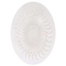 R Lalique Crystal Low Bowl