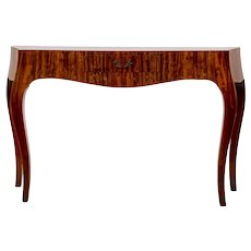 Bombe Console Table
