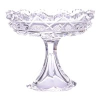 Hawkes Cut Crystal Compote
