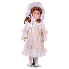 Armand Marseille Doll With Bisque Porcelain Head