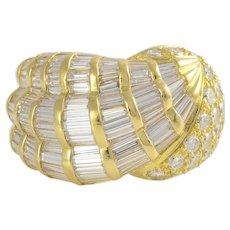 4.61 Carat Total Weight Diamond Ring