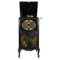 Brunswick Chinoiserie Upright Gramophone Model 27
