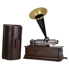 Edison Home Phonograph with Original Finish