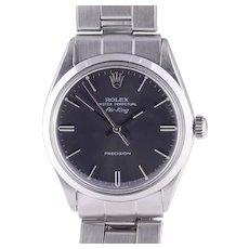 Rolex Air King Original Oyster Bracelet Wrist Watch