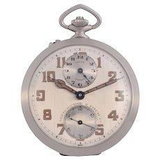 Longines Travel Alarm Pocket Watch