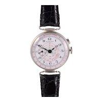 Essex Mens Nickel Silver Chronograph Wrist Watch