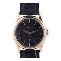Agassiz for Tiffany & Co Calatrava Style Wrist Watch