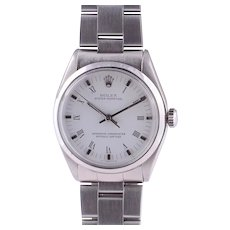 Rolex Unisex Stainless Steel Oyster Perpetual Wrist Watch
