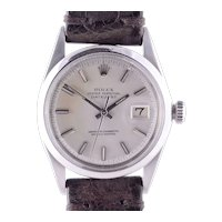 Rolex Datejust Stainless Steel Wrist Watch