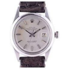 Rolex Datejust Stainless Steel Wrist Watch