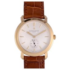 Vacheron & Constantin Classique Malta Exhibition Back 18K Wrist Watch