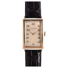 IWC Rare Mens Art Deco Wrist Watch