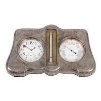 Mappin & Webb Sterling Silver Portable Weather Station