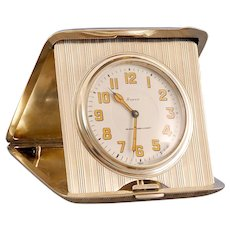 American Sterling Travel Clock for Black Starr & Frost