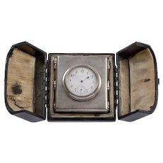 Gorham Sterling Silver Travel Clock