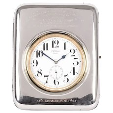 JW Benson Presentation Desk Clock Watch Case