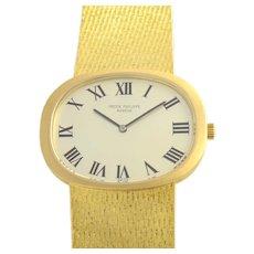Swiss Mens Yellow Gold Wrist Watch by Patek Philippe