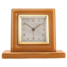 Shreve & Co Swiss Travel Alarm Clock