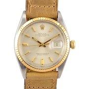 Rolex Original Dial Stainless Steel Wrist Watch