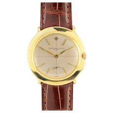 Vacheron Constantin 18K Gold Mens Wrist Watch