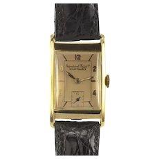 International Watch Co Schauffhausen Mens Wrist Watch