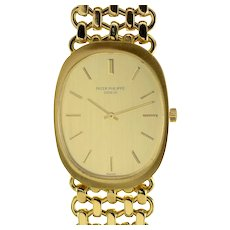 Patek Philippe Mens 18 Karat Gold Wrist Watch