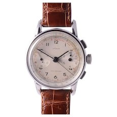 Lyceum Chronograph with Original Silvered Dial