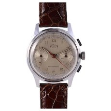Felda Chronograph with Original Silvered Dial