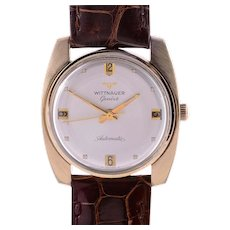 Wittnauer Mens 17 Jewel Automatic Wrist Watch