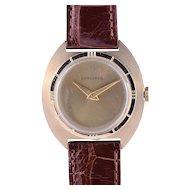Rare Longines Mens Tonneau Case Wrist Watch
