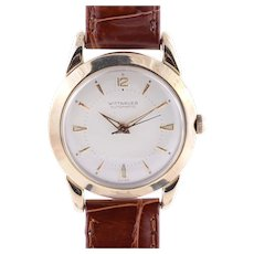 Wittnauer Mens 17 Jewel Wrist Watch