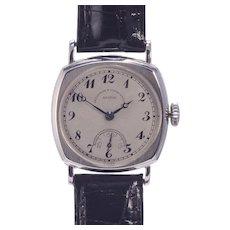 Vacheron Constantin 14 Karat White Gold Wrist Watch
