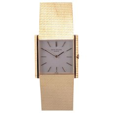 Patek Philippe 18 Karat Gold Bracelet Wrist Watch