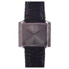 Patek Philippe Ultra Thin 18K White Gold Wrist Watch