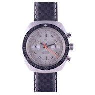 Militaria Tonneau Case Chronograph Wrist Watch