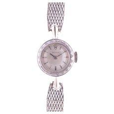 Rolex White Gold Ladies Wrist Watch