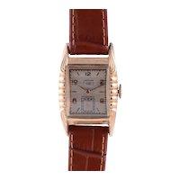Lathin Gold Filled Mens Wrist Watch