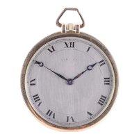 Cartier 18K Gold Pocket Watch