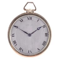 Cartier 18K Gold Pocket Watch
